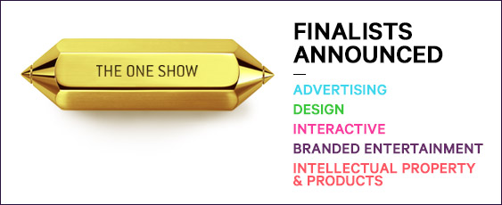 One Show 2014 Finalists