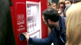 Passport Beer Fridge